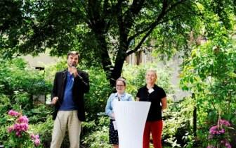 Robert Veltmann, Franziska Kühnemann und Ela Hörnschemeyer